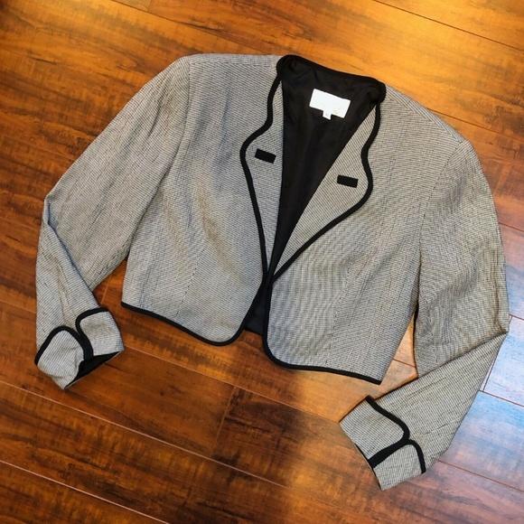 CACHE Vintage Crop Bolero Blazer Jacket